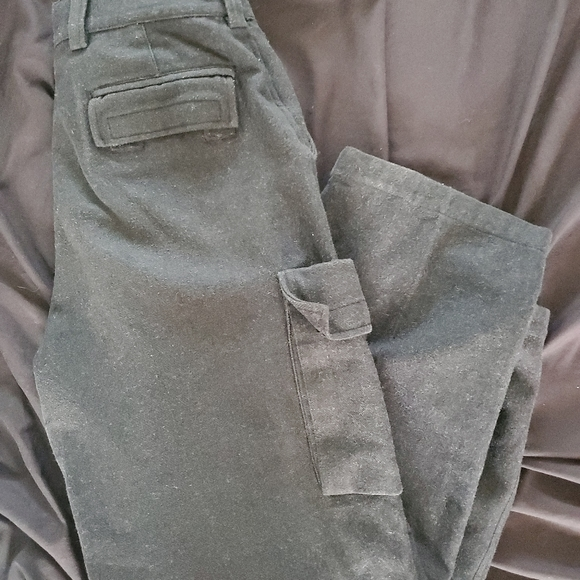Vintage Gap wool gray carpenter pants mens 33/32